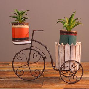 プランター 三輪車 飾り 観葉植物 インテリア 植木鉢 自転車 多肉 スタンド ガーデニング 庭 リビング 花