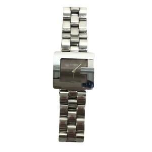 GUCCI グッチ 【lay2405D】 3600L Gスクエア アナログウォッチ 腕時計 クォーツ レディース ユニセックス ステンレス シルバー VA