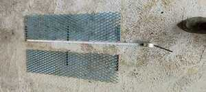 made of metal s without a helmet perth tuck 2 sheets 90cm×23cm truck off-road vehicle Jimny Land Cruiser