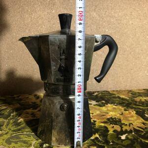 直火 エスプレッソ 本場イタリア製 大 コーヒー