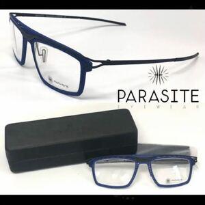新品 送料無料 PARASITE パラサイト メガネフレーム DATE 1 C72M ブルー/ブラックマット
