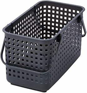 グレー Medium ライクイット (like-it) ランドリー 洗濯 収納 スタッキングランドリーバスケット (M) グレー