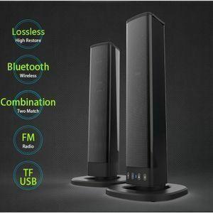 新品 Bluetooth サウンドバーテレビ サブウーファー サウンドバースピーカー AUX ホームシアター ☆厳選HI92