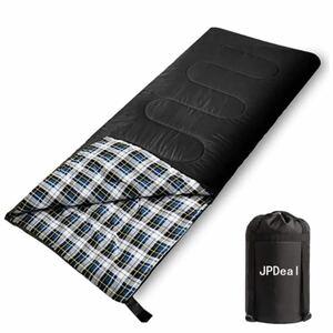 JPDeal 寝袋 シュラフ シュラフカバー スリーピングバッグ 封筒型