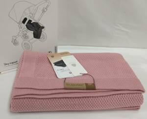 美品 未使用品 bugaboo バガブー wool blanket ウールブランケット ベビーカー ベビー用品 ピンク 80x100cm 箱あり