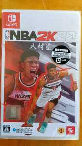 【新品未開封】NBA 2K22【数量限定特典付ロッカーコード封入】- Nintendo Switch