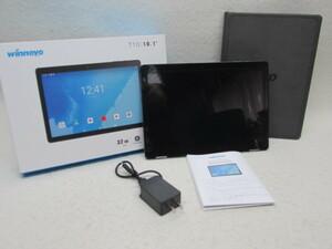 ☆Winnovo 10インチタブレット5G WiFiモデルRAM3GB/ROM32GB Android9.0 IPS液晶 GPS HDMI機能 日本語仕様書付/T10 (グレー)専用ケース付属