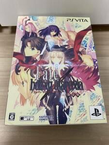 【中古】 Fate/hollow ataraxia フェイト/ホロウアタラクシア 限定版 同梱特典付き ねんどろいどぷち未開封 PS VITA