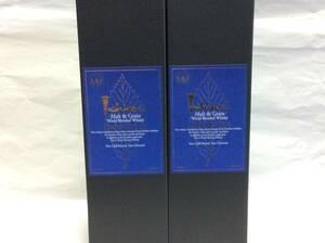 【2本】イチローズ モルト&グレーン ワールドブレンデッドウイスキー リミテッドエディション 48° 700ml 新品箱入