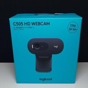 早い者勝ち!新品☆純正ロジクールWebカメラC505 HD 720P 自動光補正 ロングレンジマイク