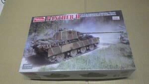 Amusing Hobby 1/35 PantherII Rheinmetall Turrett Medium Tank Model Kit 35A040 エッチングパーツ付 未使用未組立品 激レア ビンテージ