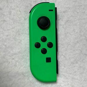Nintendo Switch ニンテンドースイッチ ジョイコン Joy-Con ネオングリーン L 左