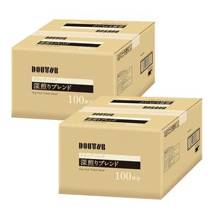 ドトール☆ドリップコーヒー☆深煎りブレンド 200袋入(100袋×2ケース) 送料込み