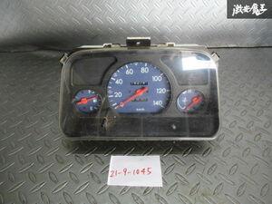 保証付!! スバル 純正 TT2 サンバー トラック MT車 スピードメーター 計器 動作OK 85014-TC160 走行距離142745km 即納 棚S-2