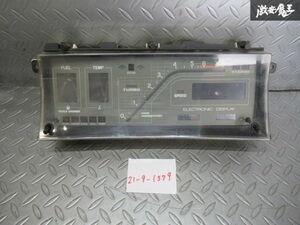 保証付!! トヨタ 純正 MS110 クラウン スーパーサルーン MT スピードメーター 計器 83100-3A550 走行距離77134km デジパネ オニクラ 棚S-2