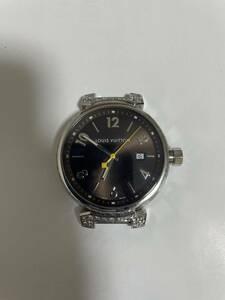 ルイヴィトン LOUIS VUITTON タンブール Q1111 アフター ダイヤモンド 付け替えベルト 計7本付き 中古