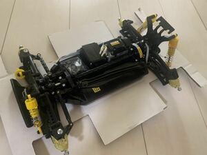 【送料無料】タミヤ  TT-02B シャーシ 新品未使用 XB完成品 ネオスコーチャー
