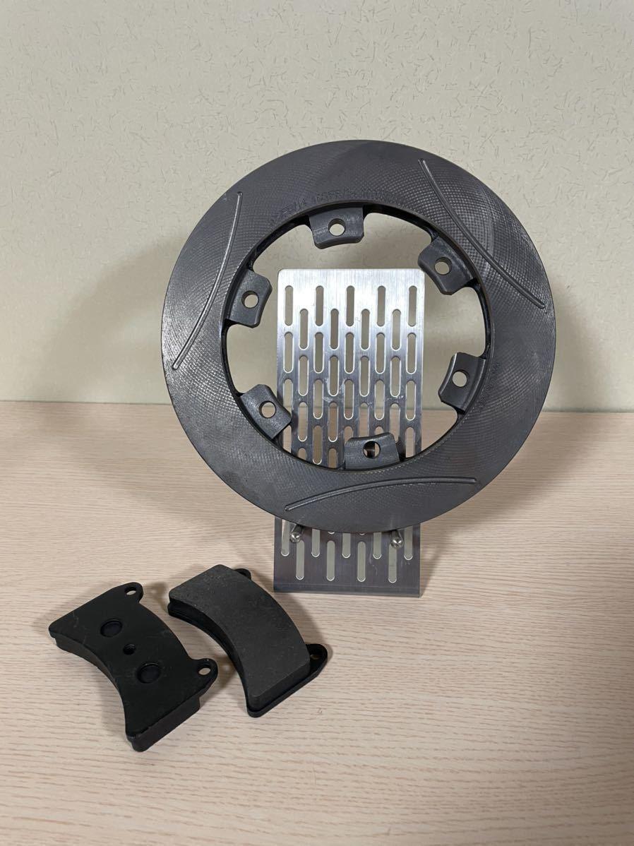 希少 IPK R1/R2用 リアブレーキパッド/純正ブレーキローター セット