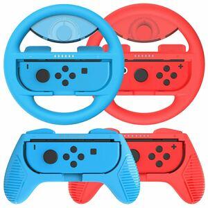 Nintendo Switchコントローラーハンドルjoy con専用4点セット