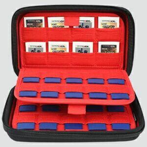ds switch カセットケース sdメモリーカードケース 収納 ケース(黒)