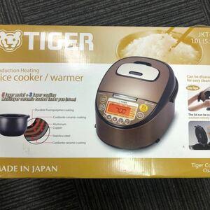 激安 海外向け TIGER IH炊飯器 W銅8層遠赤特厚土鍋 JKT-L10W/JKT-W10W 1.0L(5.5CUP)