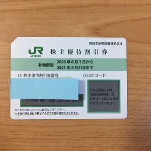 JR東日本 株主優待割引券 有効期限2022年5月31日