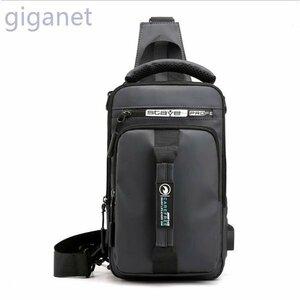 新品多機能USB充電口通勤通学アウトドアカバン メンズバッグボディバッグショルダーバッグリュックサックハンドバッグカジュアル