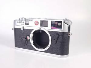 美品 Leica M6 ボディ クローム M型 ライカ レンジファインダー カメラ 露出計OK ヱOA4