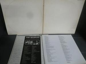 LPレコード ザ・ビートルズ ホワイトアルバム THE BEATLES EAS-77001・2 キズあり