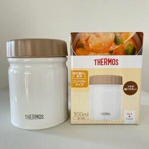 サーモス 真空断熱スープジャー ホワイト 300ml JBT-300 WH