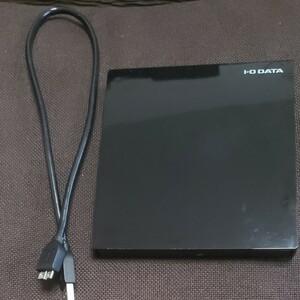 I-O DATA ポータブルBDドライブ ブラック EX-BD03K