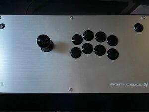 PS4 PS5 ファイティングエッジ 刃 改造 三和スティック 三和静音ボタン 仕様 アケコン アーケードコントローラ 中古品
