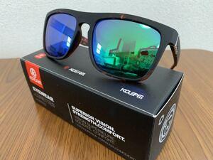 新品未使用♪kdeam最新偏光レンズサングラス グリーンミラーレンズ 即購入可!