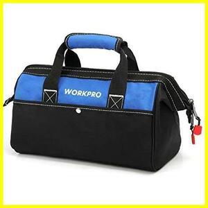 1A 新品 WORKPRO ツールバッグ 工具差し入れ 道具袋 迅速対応 工具バッグ 大口収納 600Dオックスフォード ワイドオープン 幅33cm