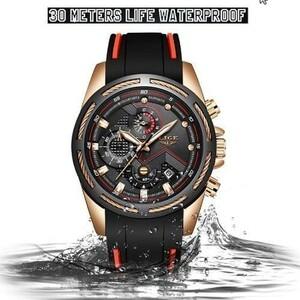 最安◆◇新メンズ腕時計トップ 高級ブランドメンズユニークスポーツウォッチ メンズクォーツ日付時計 防水腕時計レロジオ k-1420