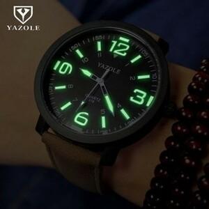 最安◆◇腕時計メンズ  高級ファッションスポーツ 発光男性時計クォーツ時計 時間 Montre レロジオ masculino k-2293