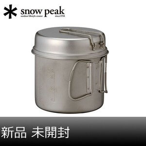 【新品】スノーピーク チタントレック900 SCS-008T【未開封】