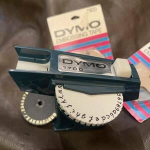 【文字が繋がる筆記体】ダイモ テープライター DYMO 1700 ビンテージ ガンタイプ 129 ②