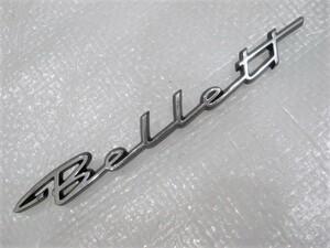 ★希少 いすゞ いすず ベレット Bellett 1800GTR? エンブレム 1点 旧車 中古