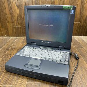 MY98-16 激安 PC98 ノートブック NEC PC-9821Nr13/D10 model A 通電、起動OK 液晶不良 ジャンク