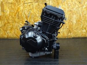 【210908】Ninja250(EX250L-004)◇ 中古エンジン 始動確認後取り外し ジェネレーター セルモーター 3813㎞ 【NINJA ニンジャ