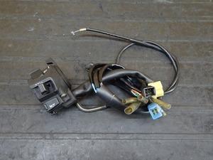 【210911】ホーネット250(MC31-1303)◇ ハンドルスイッチ左 スイッチボックス左 チョークレバー 【後期 燃料メーター付