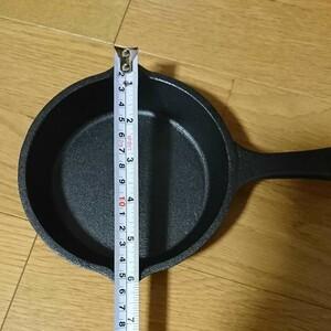 内海産業 両手で便利なスキレット IH 対応 約 15cm (レシピ 付き)