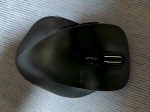 ワイヤレスマウス エレコム M-XGL10DB EX-G USBレシーバー 5ボタン Lサイズ◆動作確認済