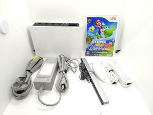 Nintendo ニンテンドー Wii ホワイト 動作確認済み