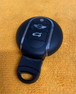 【BMW MINI 3ボタン 純正 リモコンキー キーレス スペアキー F56 3ドア 2015年(平成27年)式 クーパーで使用】