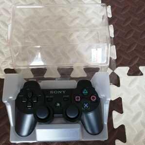 未使用 PS3 コントローラー 純正 ブラック 黒 デュアルショック3 DUALSHOCK3  送料無料 SONY プレステ3