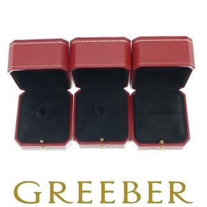 【俺の物屋】1円~ カルティエ Cartier リング 指輪 ジュエリー 箱 ケース 3個 ※内箱のみ
