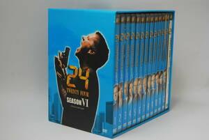 【1円~】24 SEASON VI COLLECTORS BOX 1-12巻+スペシャルディスク DVDBOX ジャック・バウアー■