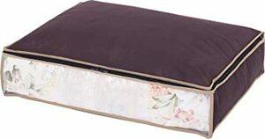 ブラウン アストロ 羽毛布団 収納袋 シングル用 ブラウン 不織布 活性炭消臭 コンパクト 617-45